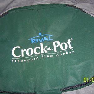 Rival Crock Pot Stoneware Slow Cooker Case
